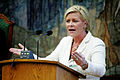 Siv Jensen, partiledare Fremskrittspartiet Norge, talar under Nordiska radets session i Kopehamn 2006.jpg