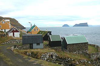 Sandoy - Image: Skarvanes, Faroe Islands