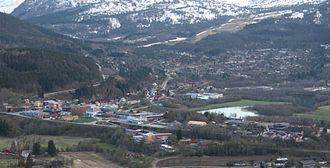 Surnadal - View of Skei in Surnadal