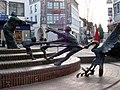 Skulptur in Kleve-Innenstadt.JPG