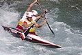 Slalom canoeing 2012 Olympics C2 POL Piotr Szczepański and Marcin Pochwała.jpg