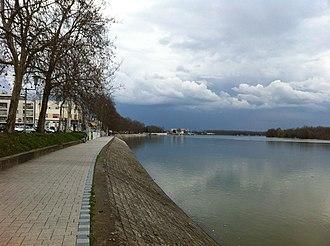 Slavonski Brod - Sava river promenade