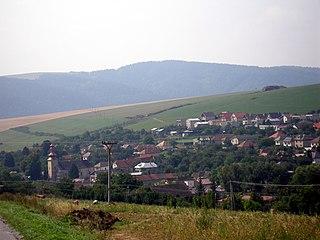 Hermanovce Village in Slovakia