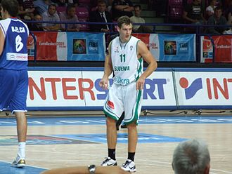 Goran Dragić - Dragić playing for Slovenia in 2009