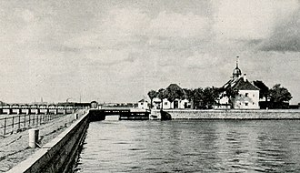 Slusen, Copenhagen - Slusen in about 1930