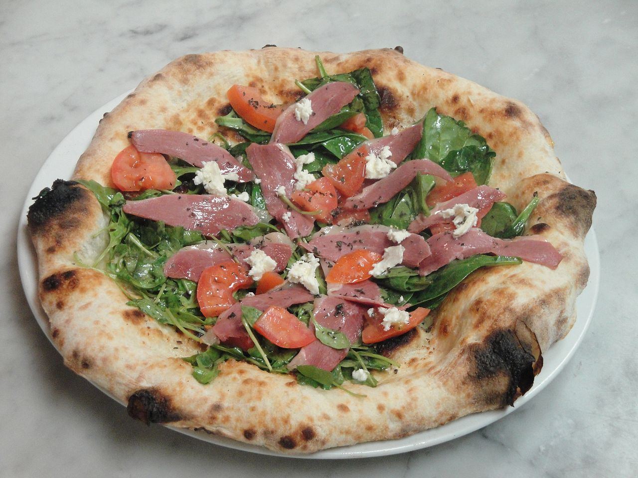 File:Smoked Duck Breast Pizza.jpg - Wikimedia Commons