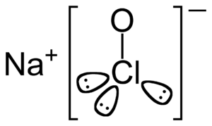 Sodium hypochlorite - Image: Sodium hypochlorite