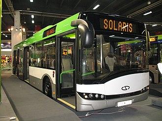 Solaris Urbino - Prototype Solaris Urbino 12  3,5 Generation from 2008.
