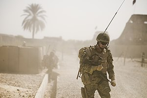 Duke of Lancaster's Regiment - Soldiers from the 1st Battalion Duke of Lancaster's Regiment patrolling in Afghanistan in 2010