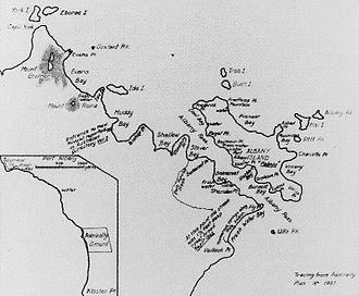 Djagaraga - Image: Somerset, Albany Island