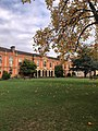 Somerville College Oxford, Library in autumn.jpg