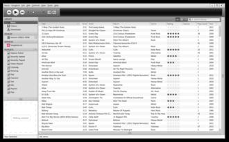 Songbird (software) - Image: Songbird 2.0.0 (Windows 7)