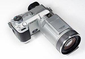 Sony Cyber-shot DSC-F717 - Image: Sony Cyber shot DSC F717
