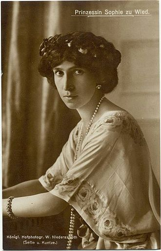 Princess Sophie of Albania - Image: Sophie of Schönburg Waldenburg