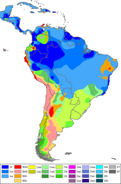 Archivo:South America Köppen Map.png