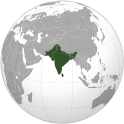 South Asia (orthographic projection) with national boundaries.png