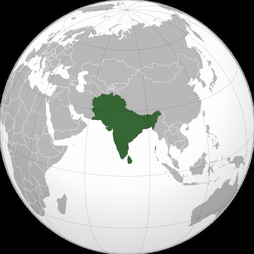 Cartina Muta Del Subcontinente Indiano.Subcontinente Indiano Wikiwand