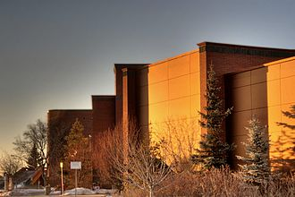 Northern Alberta Institute of Technology - The South Learning Centre on NAIT's Edmonton Metro campus.