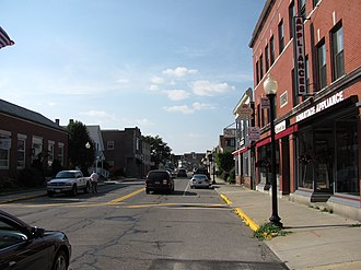 Mansfield Center, Massachusetts - North Main Street