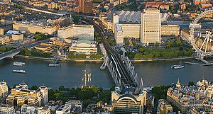 Southbank Centre - Southbank Centre's 21 acre former estate extended from Waterloo Bridge to the London Eye