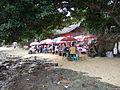 Souvenir market Liang Beach Bunaken.JPG