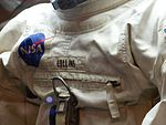 Spacesuit of Michael Collins, Moscow, Russia, 2016 01.jpg