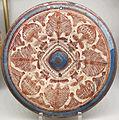 Spagna, piatto lustrato, 1490 ca..JPG