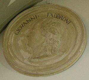 Giovanni Fabbroni - Image: Specola, medaglione di giovanni fabbroni
