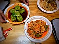 """Spicy & Sour Spinach Dumplings - Liang Pi """"Cold-Skin Noodles"""".jpg"""