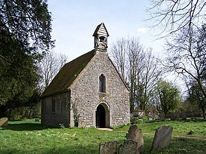 Grade II* listed buildings in Eastleigh (borough) - Image: St.Bartholomew's Chapel Botley geograph.org.uk 746882