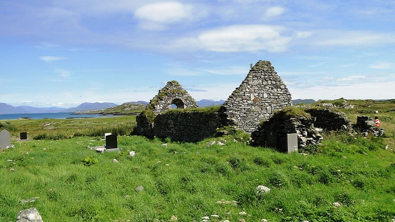File:St.Colmans Church, Inishbofin.jpg