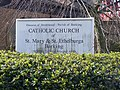 St.Mary and St.Ethelburga Catholic Church Sign, Barking - geograph.org.uk - 1209417.jpg