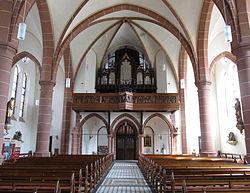 St. Ingbert St. Josef Empore Orgelprospekt 2012-06-05.JPG
