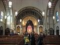 St. John the Baptist Catholic Church in Hammond, interior from entrance.jpg