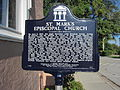 St. Mark's Episcopal Church (Cocoa, Florida) historical marker 001.jpg