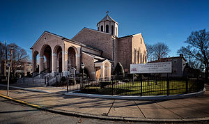 St. Stephens Armenian Church, Watertown, MA, Right Side.jpg