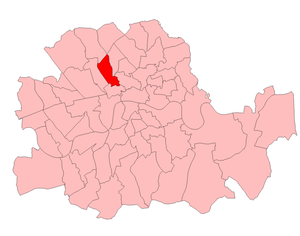 St Pancras South East (UK Parliament constituency) - St Pancras South East in London 1918-50