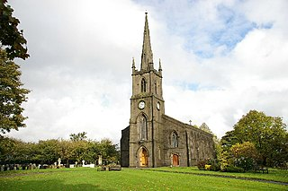 St Annes Church, Turton Church in England, UK