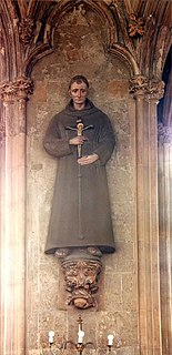 16th-century English Franciscan friar and martyr