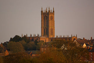 St Laurences Church, Ludlow Church in England