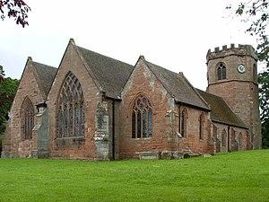 Hodnet, Shropshire - St Luke's Church