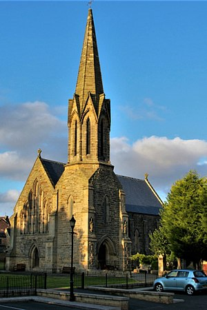 Morpeth, Northumberland - St Robert of Newminster Roman Catholic Church, consecrated 1 August 1850