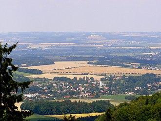 Fryčovice - Image: Staříčská pahorkatina, Fryčovice