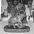 Staatsbezoek president Nyerere van Tanzania, president Nyerere bezoek gebracht a, Bestanddeelnr 917-6723.jpg