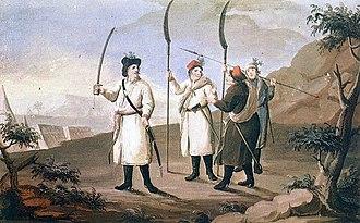 Battle of Chełm - Peasant militia of 1794  by Michał Stachowicz