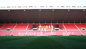 Stadium of Light - East Stand of the Stadium