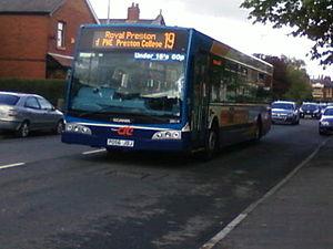 Stagecoach in Preston - A Stagecoach in Preston East Lancs Esteem