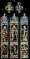 Stained glass window, St Mary's church, Dymock (20165319469).jpg