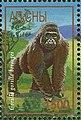 Stamp of Abkhazia - 1997 - Colnect 1000118 - Gorilla gorilla beringei.jpeg