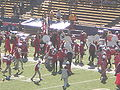 Stanford Band performing pregame at 2008 Big Game 10.JPG